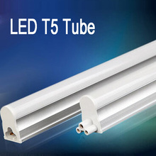 6pcs LED T5 Tube  9W/ 600mm/ Linkable /No Dark Zone /Under Cabinet / Kitchen/ Showcase Lighting Fixture For Home AC 85-265V