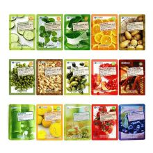 Facial Mask Collagen Aloe Olive Essence Facial Mask Sheet 3D Moisture Whiting Face Mask Pack Skin Care