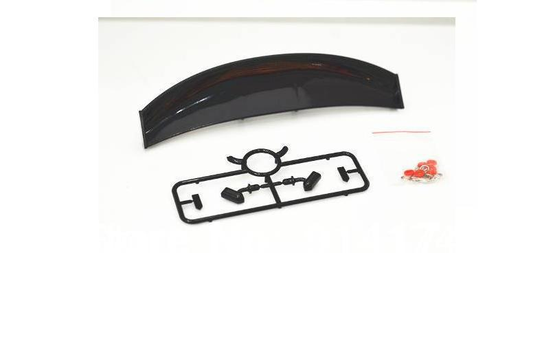 YUKALA 1/10 RC Car accessories r/c car parts 1/10 RC drift car wing series /Lexus spoiler free shipping(China (Mainland))