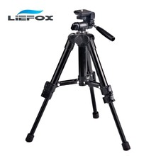 Professional Portable Camera Tripod Travel Aluminum Monopod & Pan Head for SLR DSLR Digital Camera Canon Nikon Sony DV Camcorder(China)