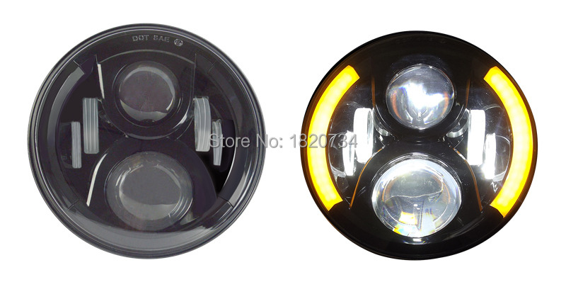 7 inch Round LED Headlight 9