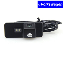 Night Vision Waterproof CCD Car Reverse Rear View Parking Back Up Camera for Volkswagen VW Magota / Superb/ Polo/ Golf/ Bora