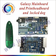 Galaxy printers spare part Galaxy mather board include mainboard/printhead board/coverted card/dongle for Galaxy printers(China)