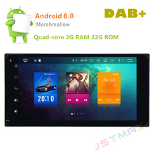 "2 DIN Universal 7"" Android 6.0 Octa Core 2G RAM Car Raido GPS Player For TOYOTA NO DVD Head unit FM BT Player"