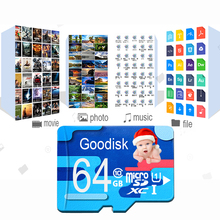 Memory card 128gb micro sd card 8gb tf card 16GB 32GB 64GB Class 10 UHS-1 mini sd card for cell phones /tablet /CAR DVR(China)