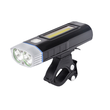 New Cycling Light Waterproof Multi-function Front Light USB Charging Lamp Bike Headlight Power Bank Bicycle Light taillight sets
