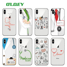 Buy OLOEY Nurse Medical Medicine Health Heart Soft TPU Phone Case Cover Coque Fundas iPhone 7 7Plus 6 6S 6Plus 5 5S SE 8 8Plus X for $1.21 in AliExpress store