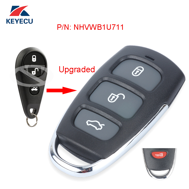 Discount Keyless Remote Replacement Car Key Fob For Subaru Forester Impreza Legacy Outback NHVWB1U711 2 Pack