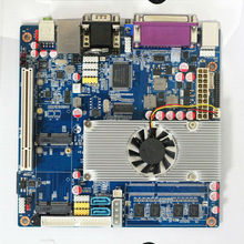 Atom D525 Mini ITX Motherboard thin client motherboard Support power booting(China)