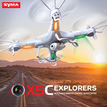 Original Syma X5C Drone 2.4G 4CH RC Helicopter Gyro Quadcopter Remote Control With HD Camera Toys for Children Gift Funny(China)