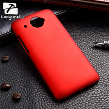 Luxury hard plastic cover case For HTC Desire 601 4.5 inch Case Covers Houisng Shell oil-coated rubber matte phone shell