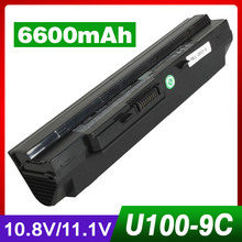 6600mAh battery for LG X110 for MEDION Akoya Mini E1210 for Msi Wind U100 U90 U200 U210 U230 BTY-S11 BTY-S12 TX2-RTL8187SE