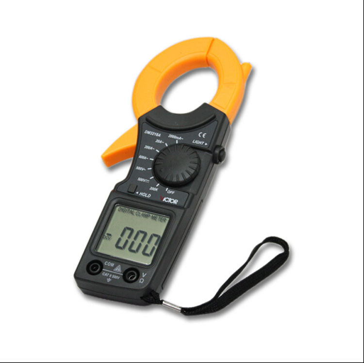 Portable Clip-on multimeter LCD digital Electrical Tester Meter Multimeter VC3218A<br><br>Aliexpress