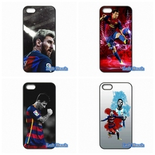For Apple iPhone 4 4S 5 5S 5C SE 6 6S 7 Plus 4.7 5.5 iPod Touch 4 5 6 Alpha Original Leo Messi Case Cover