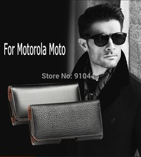 Universal business style Belt Clip Wallet cover PU Leather case for Motorola MOTO G2 G3 X+1 X2 X G4 G5 play DRIOD Turbo XT1254