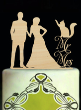 Bride And Groom Wood Wedding Decoration Cake Toppers Mr And Mrs Wedding Cake Toppers Custom Cake Toppers Modern Toppers