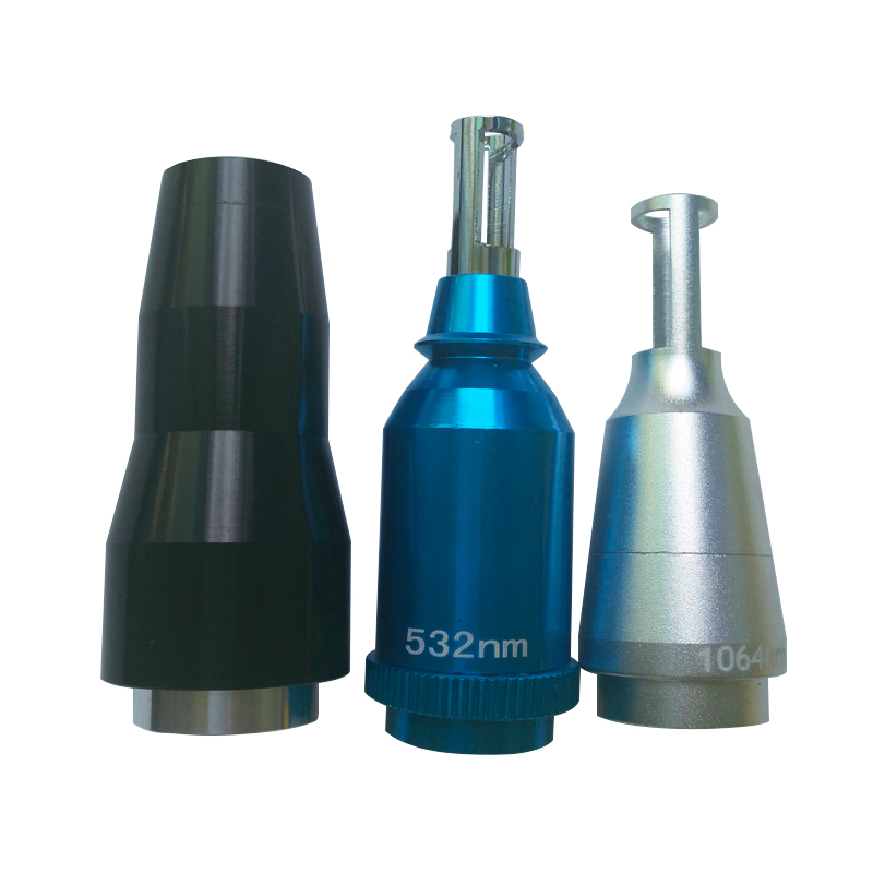 1064nm 532nm lens laser tips head for tattoo removal machine  ND YAG laser headle tips  lens<br>