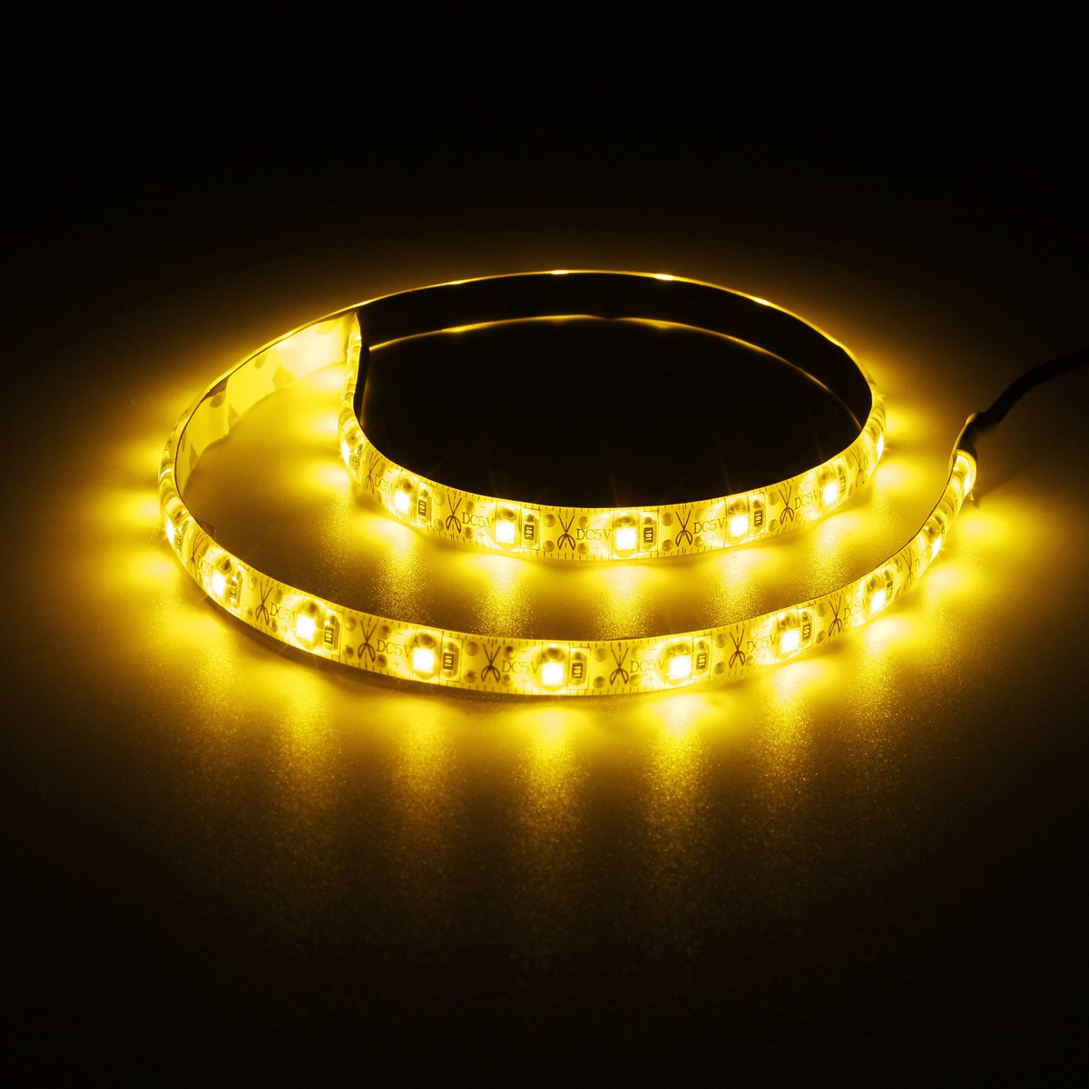 Hot Sale 50cm USB Cable 3528 SMD 30 LED Strip Light Lamp Waterproof IP65 PC TV Background Lighting Kit DC5V(China (Mainland))