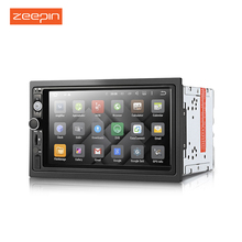 Zeepin DY7098 2Din Car DVD Mp5 Player Android 6.0 System HD TFT LCD Touch Screen Radio Wifi GPS Navigation Car Multimedia Player