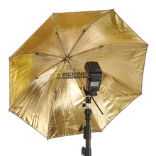 "101cm / 40"" Selens Photo Studio Lighting Softbox Reflector Umbrella Black & Gold Umbrellas for Canon Nikon Sony Speedlight(China)"