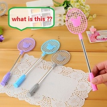 WHAT IS THIS?  Event & Party Supplies Small gift funny gadgets Magic the Badminton racket pen   Z913