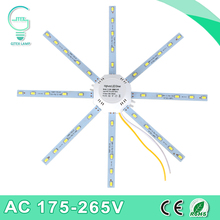 LED Ceiling Lamp 5730SMD 12W 16W 20W 24W LED Lamp Octopus Light 220V LED Light Board Energy Saving Expectancy Indoor Lighting