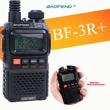 Newest baofeng uv-3r Plus Interphone Two 2 Way Radio Portable Mini Walkie Talkie For Uhf Mobile Radio Dual Band Vhf Radio Marine