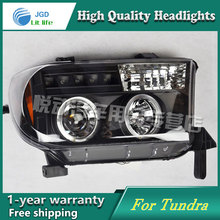 high quality Car styling case for Toyota Tundra Headlights LED Headlight DRL Lens Double Beam HID Xenon car accessories(China)