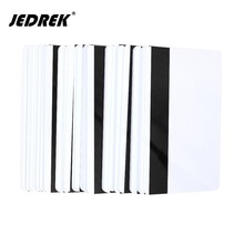 100x blank CR80 ID ISO PVC Credit Card LoCo 1-3 Magnetic Stripe PVC Card free shipping(China)