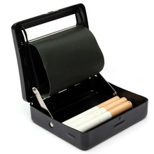 Mayitr Automatic Cigarettes Tobacco Rolling Machine Cigar Case Tin Box Tobacco Storage Holder Box Container Smoking Accessories