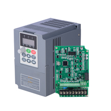 New VC V/F Control VFD 0.75KW 3Phase 380V 400Hz 2.1A Digital AC Inverter Universal Frequency Converter for CNC Machinery