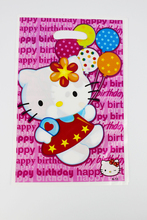 Hello Kitty Kid Boy Girl Baby Happy Birthday Party Decoration Kits Supplies Favors Loot Bag Gift Bag 12pcs/lot