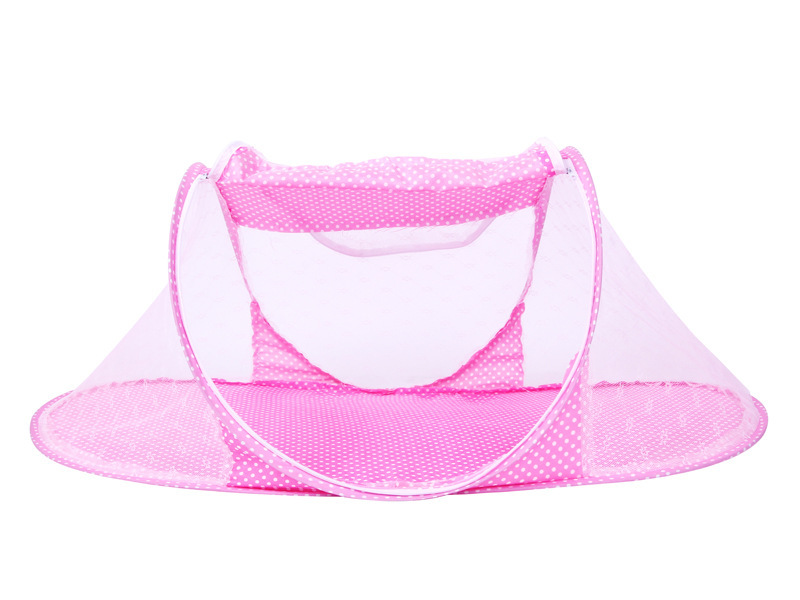 Infant Baby Bedding Crib Mosquito Net For Baby portable Mosquito Mesh Netting Toddler Cots fodable Summer Mosquito Nets Insect (9)