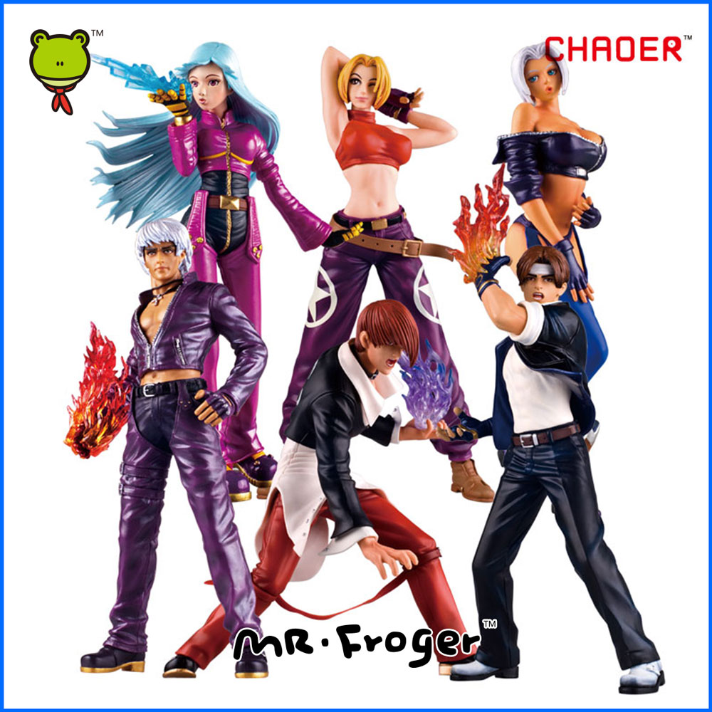 Mr.Froger K.O.F The King Of The Fighters Action Figures Models Toy Game Figure KOF Fighting Street Fighter Big Statue KYO PVC<br><br>Aliexpress