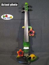 Newly model Song design streamline 4/4 electric violin,solid wood #5312