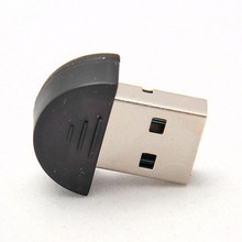 2pcs/lot Bluetooth USB 2.0 Dongle Adapter smallest bluetooth adapter V2.0 EDR USB Dongle 100m PC Laptop
