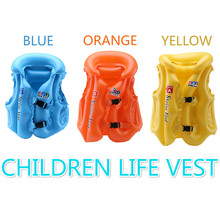 3 Size Children Kids Babies Inflatable Pool Float Life Vest Swimsuit Child Swimming Drifting Safety Vests Pool Funny 3 Colors(China)