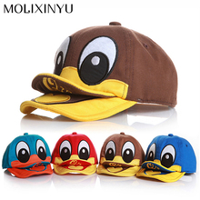 CUTE !! New 2017 Duck Design Baby Hat Baby Cap For Child Sun Hat Baseball-Caps Kid Hat All For Child Clothing and Accessories