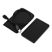 Fashion 2.5 Inch SATA External Enclosure USB3.0 HDD Enclosure ABS Box For Hard Drive Disk Support 3TB Capacity