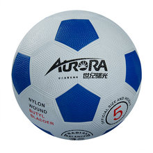 soccer ball size 5 Natural rubber football competition training professional football Adhesive for Children soccer Free ship C32