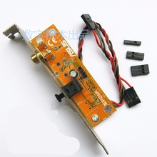 SPDIF Optical Audio RCA Out Plate Cable Bracket mainboard digital audio output for ASUS Gigabyte MSI Motherboard(China)