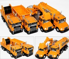 Specials Diecast cars, 1:50 alloy construction vehicles, trucks, mixer, excavators, lowest price, free shipping(China)