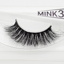 Visofree 3D Mink Eyelashes Upper Lashes 100% Real Mink Strip Eyelashes Handmade Crossing Mink Eye Lashes Extension A11