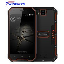 Blackview BV4000 Pro Smartphone IP68 Waterproof 2GB RAM 16GB MT6580A Quad Core 4.7 Inch Android 7.0 CellPhone ROM 8MP 3G Phone(Hong Kong,China)