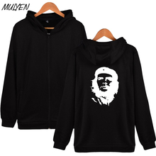 MULYEN Che Guevara Greats Avatar Print Zipper Hoodies Men Women Casual Fashion Fleece Tracksuit Brand Clothing Moleton Masculino