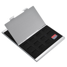 19 In 1 Mini Memory Card Holder Case Storage Box 4 For SIM Card 2 For Mirco SIM Cards 12 TF With 1 For BisonFone Slot Portable