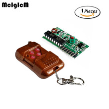 MCIGICM IC 2262/2272 315MHZ 4 Channel Wireless Remote Control Kits 4 key Hot sale(China)