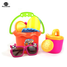 23cm 9 Tools Kids Sunglassess Beach Toys Sand Water Games Outdoor Toy Kids Water Sand Playing Tool For The Beach Summer Toy