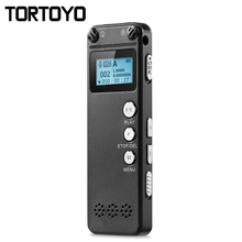 8GB Professional Authentic Miniature Portable Mini HD Digital Voice Audio Recorder MP3 Player Playback Voice Sound Recording Pen(China)