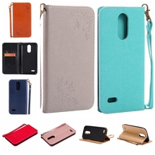 Buy Luxury Magnetic Case LG K10, 2017 Flip Wallet Leather Cover LG X400 Case Embossing Holder Phone Cases LG M250N for $3.31 in AliExpress store